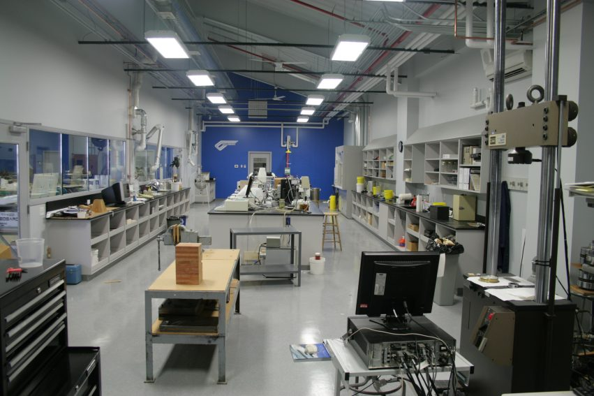Our new chemistry lab