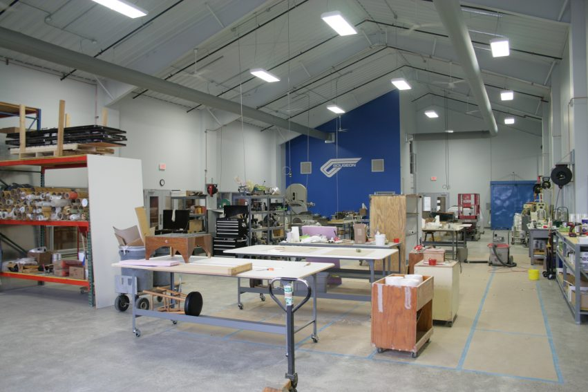 Our new technical department workshop.