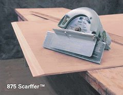 The Scarffer is a tool for cutting plywood