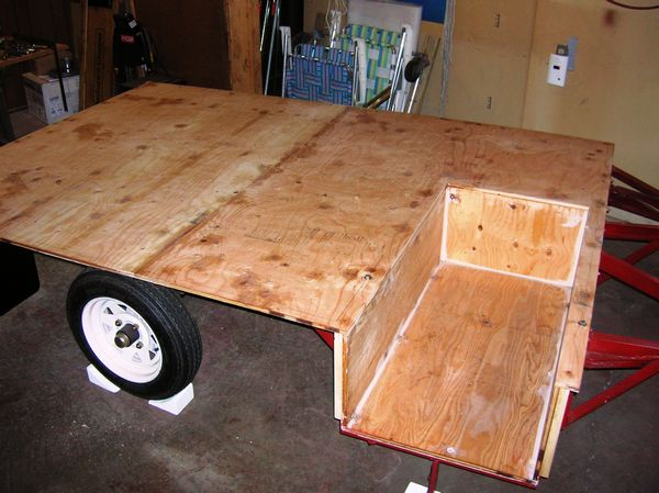 The custom trailer platform
