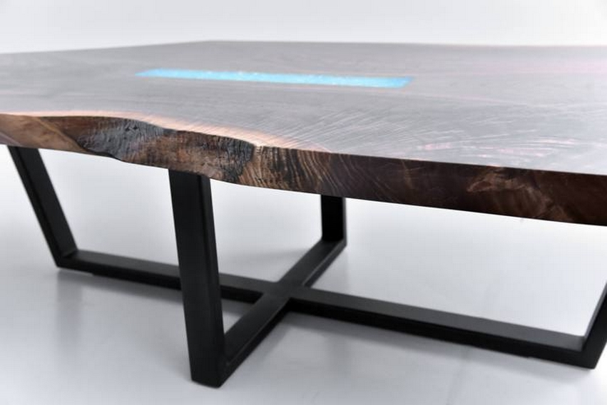 The Marita live edge coffee table