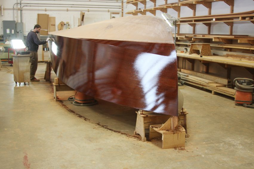 staining the hull