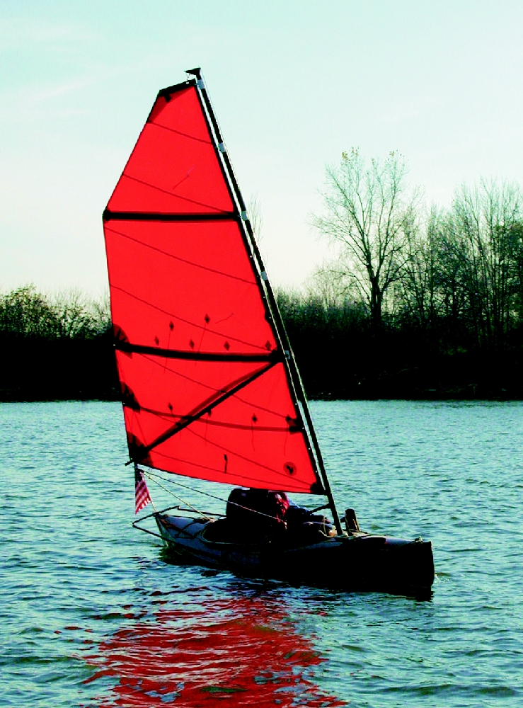 Serendipity sailing canoe