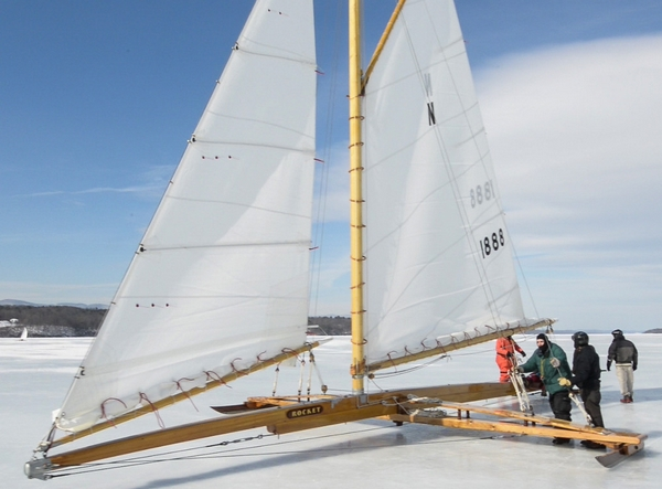 ROCKET Ice Yacht restored with WEST SYSTEM Epoxy
