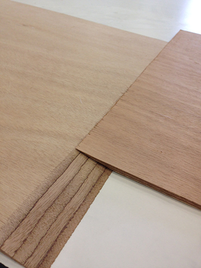 joining plywood: scarf joint taper